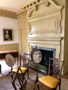 Parlor Room at Schuyler Mansion State Historic Site in Albany, New York