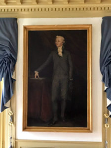 A Painting of a Young Alexander Hamilton