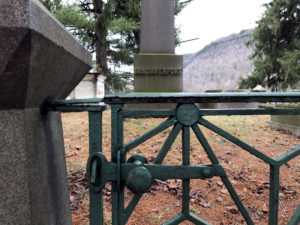 Historic Cemetery in Bath, New York