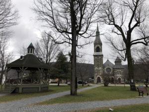 Village Park at Third Presbyterian Church in Bath, New York