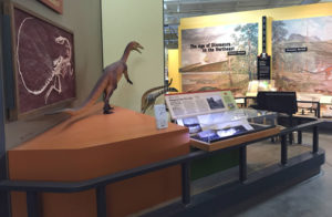 Dinosaur Exhibit at the Museum of the Earth in Ithaca, New York