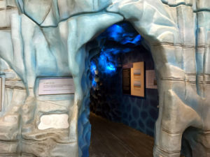 Ice Cave at the Museum of the Earth in Ithaca, New York