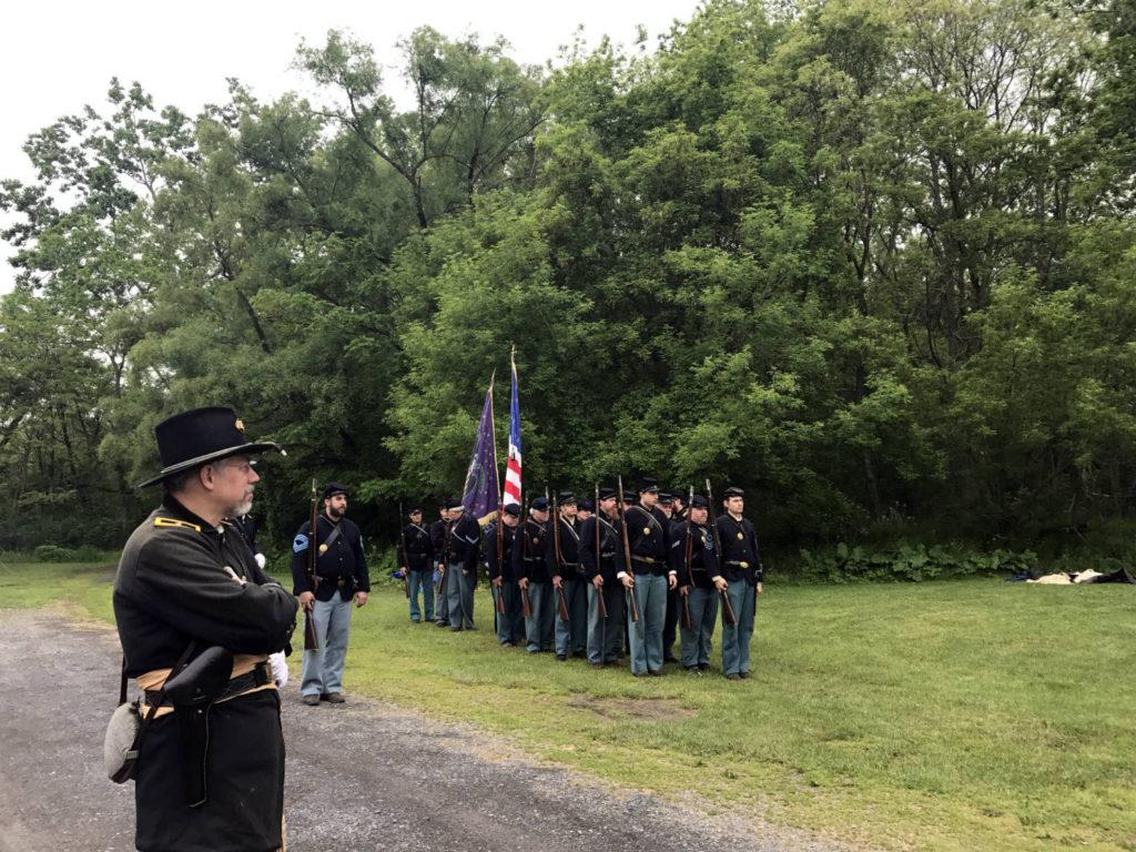 Civil War Camp at the Memorial Day Celebrations in Waterloo, New York