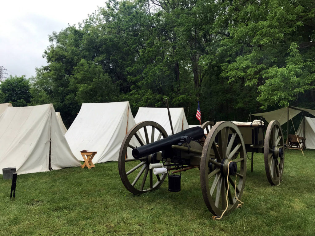 Cannon at the Memorial Day Celebration in Waterloo, New York