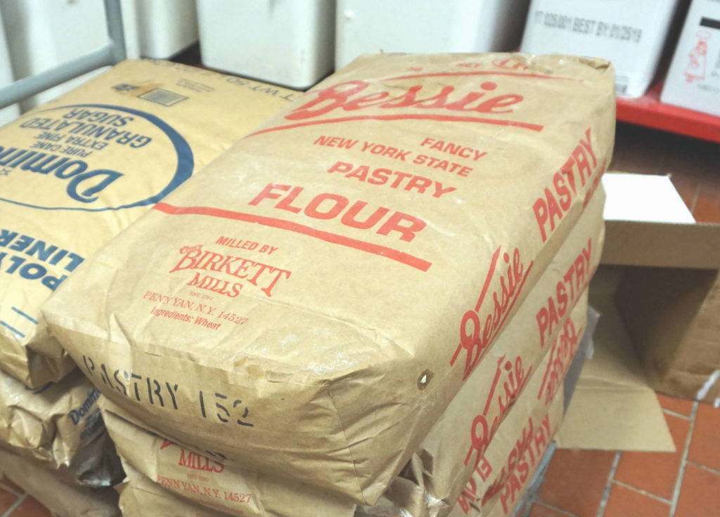 Birkett Mills Flour at Byrne Dairy Ice Cream Center in Syracuse, New York