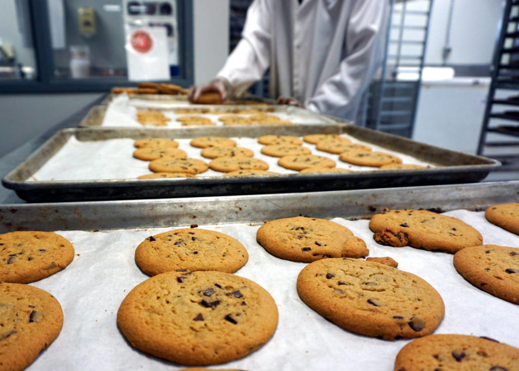 Chocolate Chip Cookies at the Byrne Dairy Ice Cream Center in Syracuse, New York