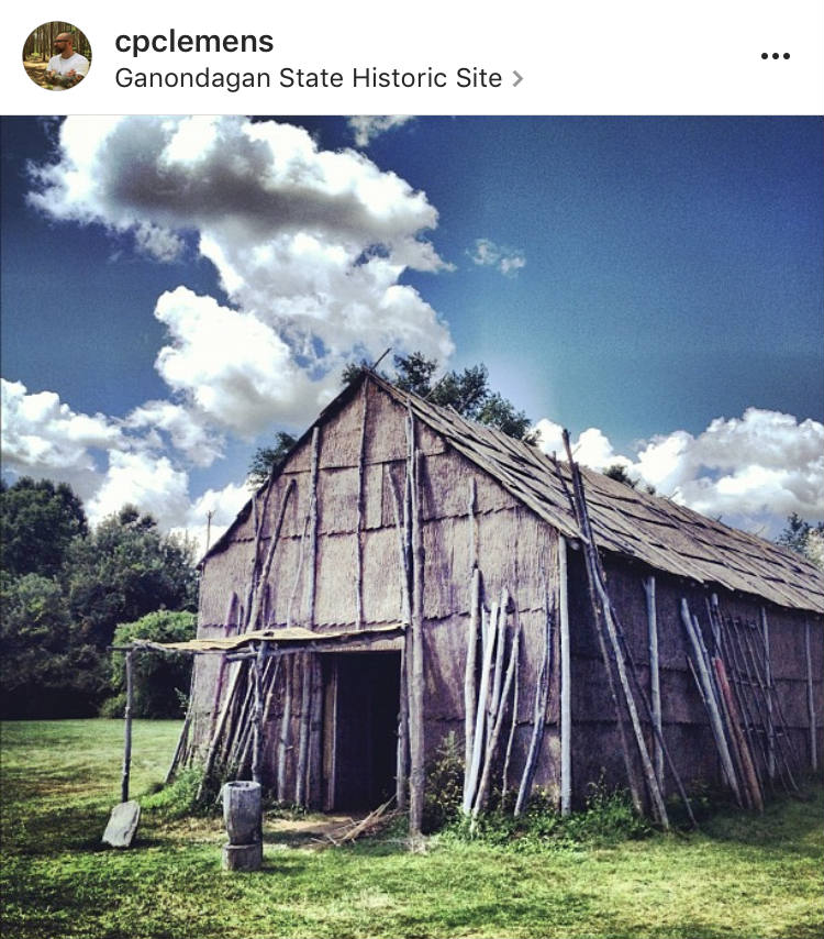 Longhouse at Ganondagan State Historic Site