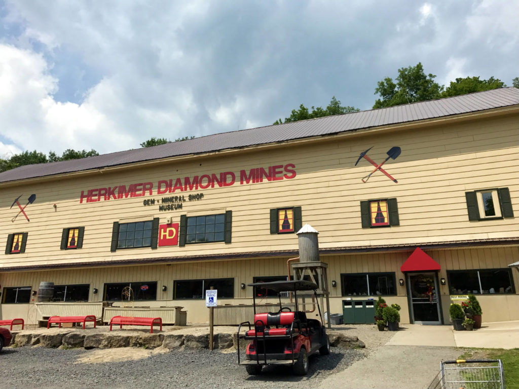 The Herkimer Diamond Mines in Herkimer, New York