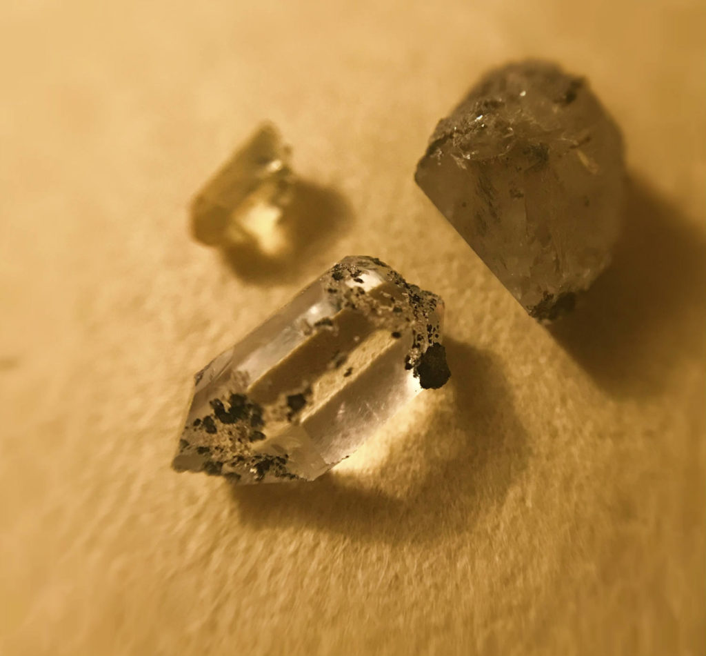 My Herkimer Diamonds