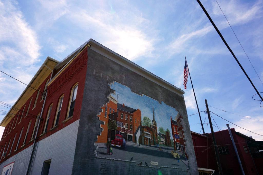 Mural in Cuba, New York