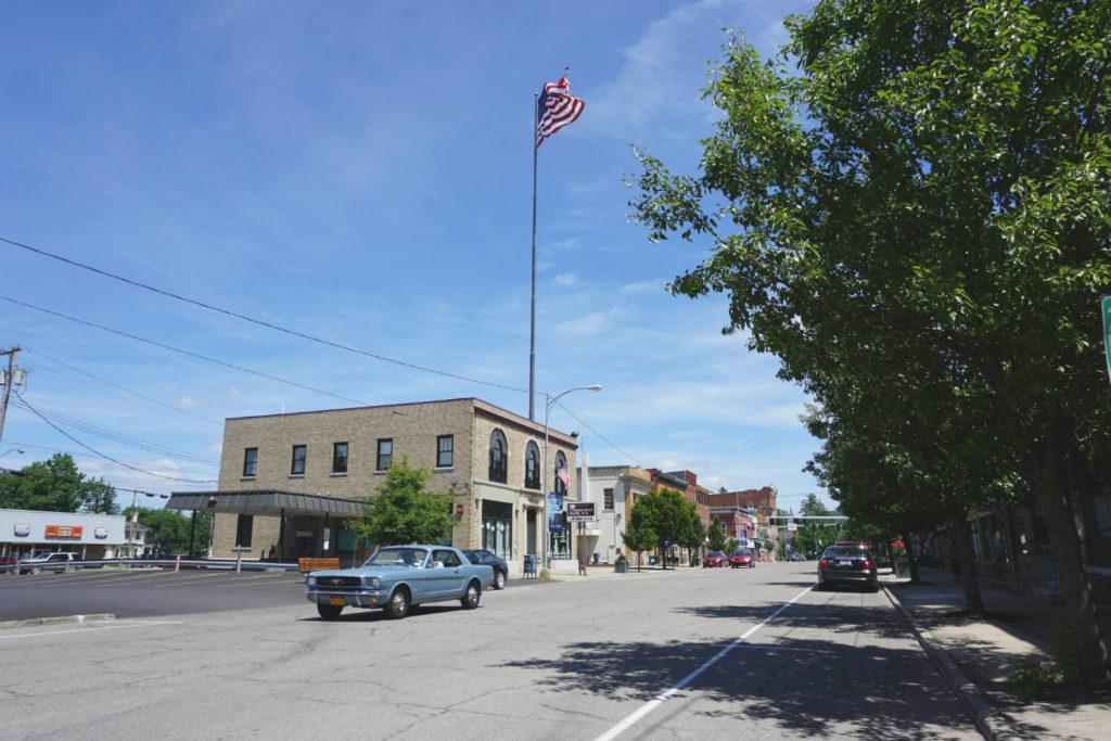 Flag Pole in Cuba, New York