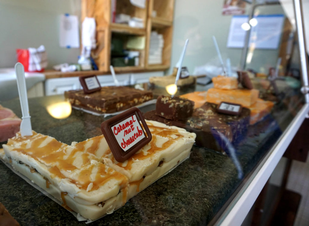 Fudge Shop in the Palmer Opera House in Cuba, New York