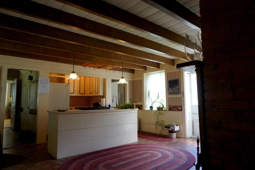 Kitchen at the Barden Cobblestone Home In Penn Yan, New York