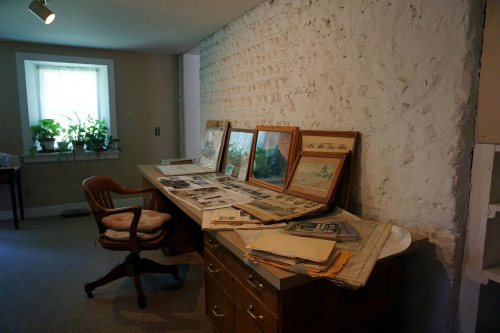 Historical Documents of the Barden Cobblestone Home in Penn Yan, New York