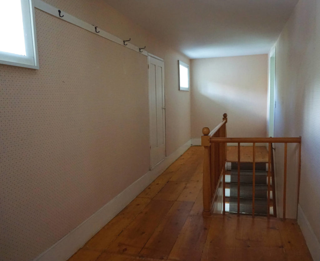 Upstairs Hallway at the Barden Cobblestone Home in Penn Yan, New York