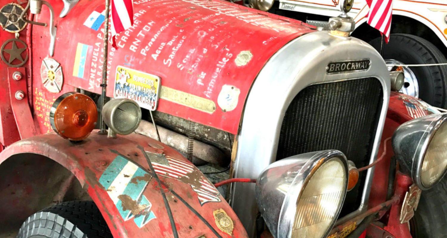 "Brockway ""El Viejo"" Firetruck - Featured Image"