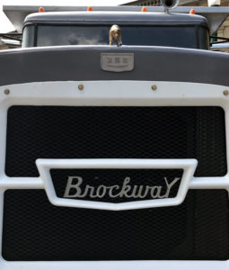 Brockway Motor Trucks Front Grill Closeup