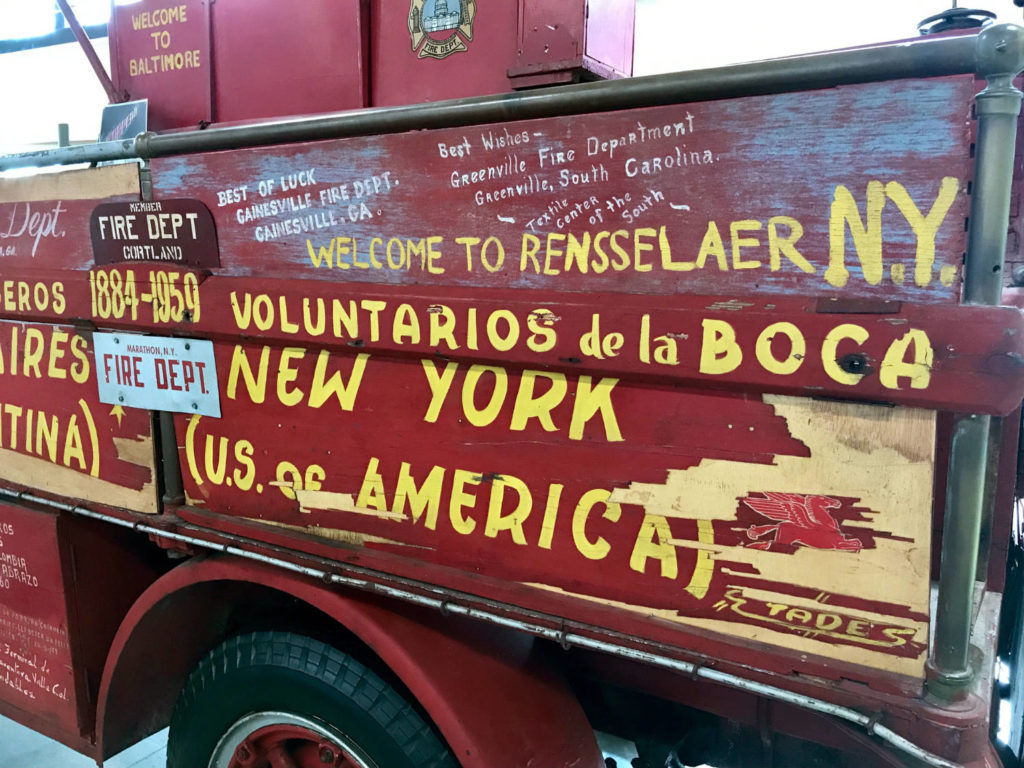 The Brockway El Viejo Firetruck in Cortland, New York