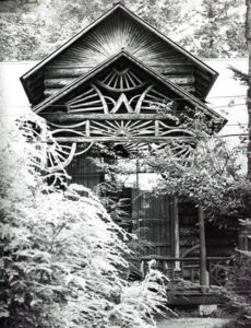 Historic Photo of The Lodge at Camp Pine Knot in the Adirondacks