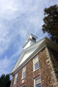 The Cobblestone Universalist Church in Childs, New York