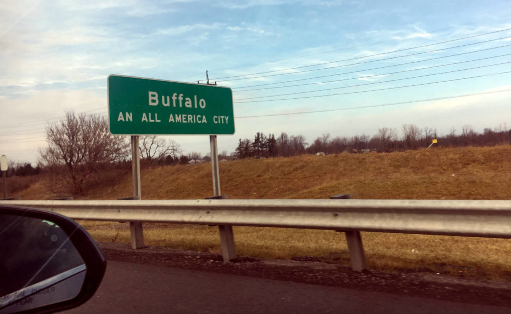 Buffalo An All America City Sign
