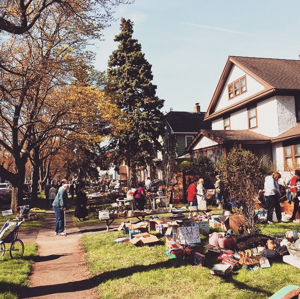 Browncroft Neighborhood Garage Sales 2015