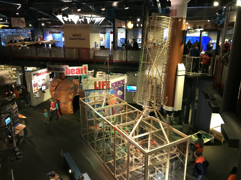 Exhibits at the MOST Museum in Syracuse, New York