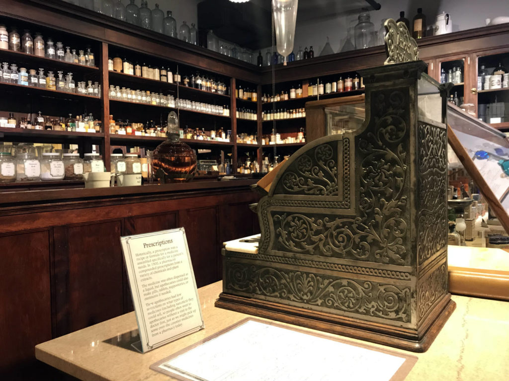 Historic Apothecary at the MOST Museum in Syracuse, New York
