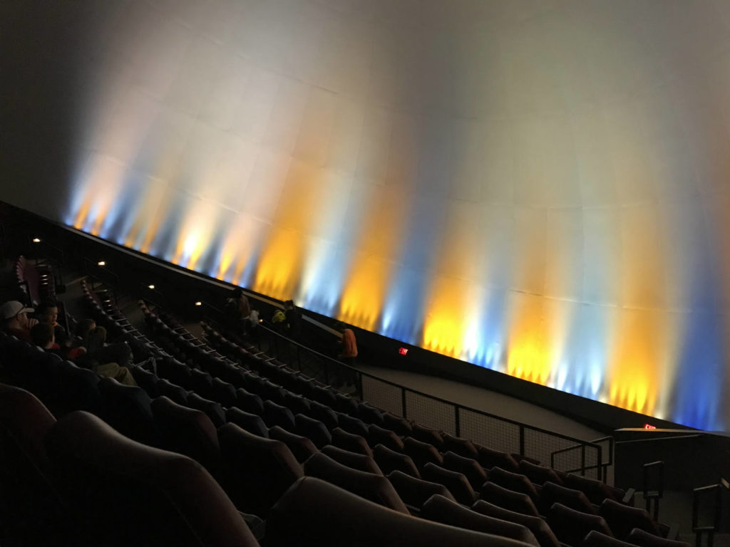 IMAX Theatre at the MOST Museum in Syracuse, New York