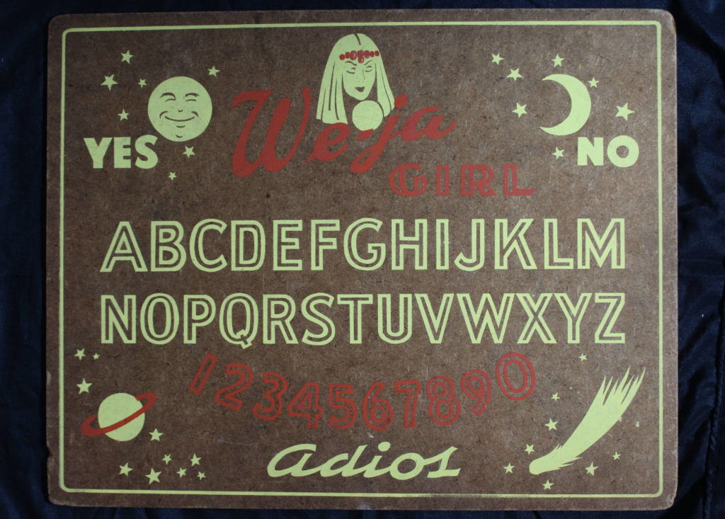 We-ja Girl Ouija Board