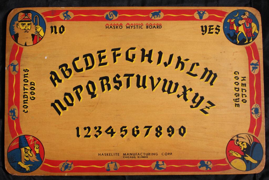 Haskelite Manufacturing Hasko Mystic Ouija Board
