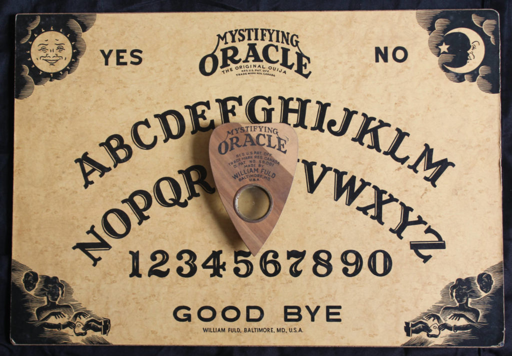 William Fuld Mystifying Oracle Ouija Board