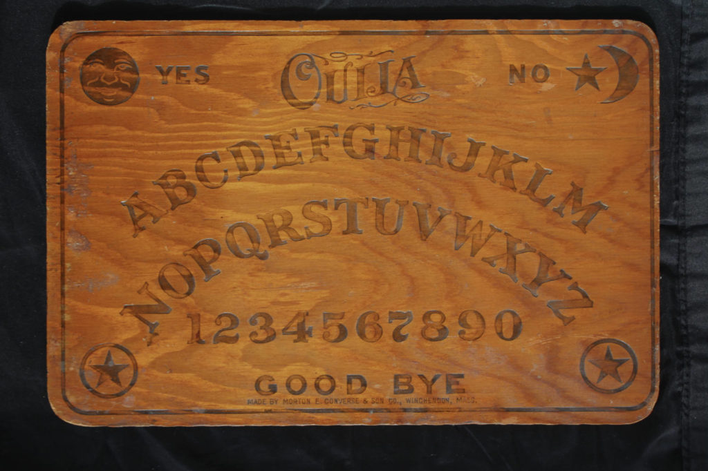 A Ouija Board Collection In Schenectady Exploring Upstate