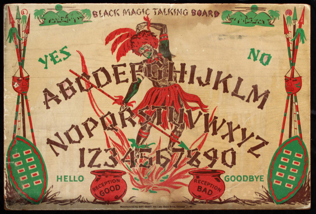 Black Magic Talking Ouija Board