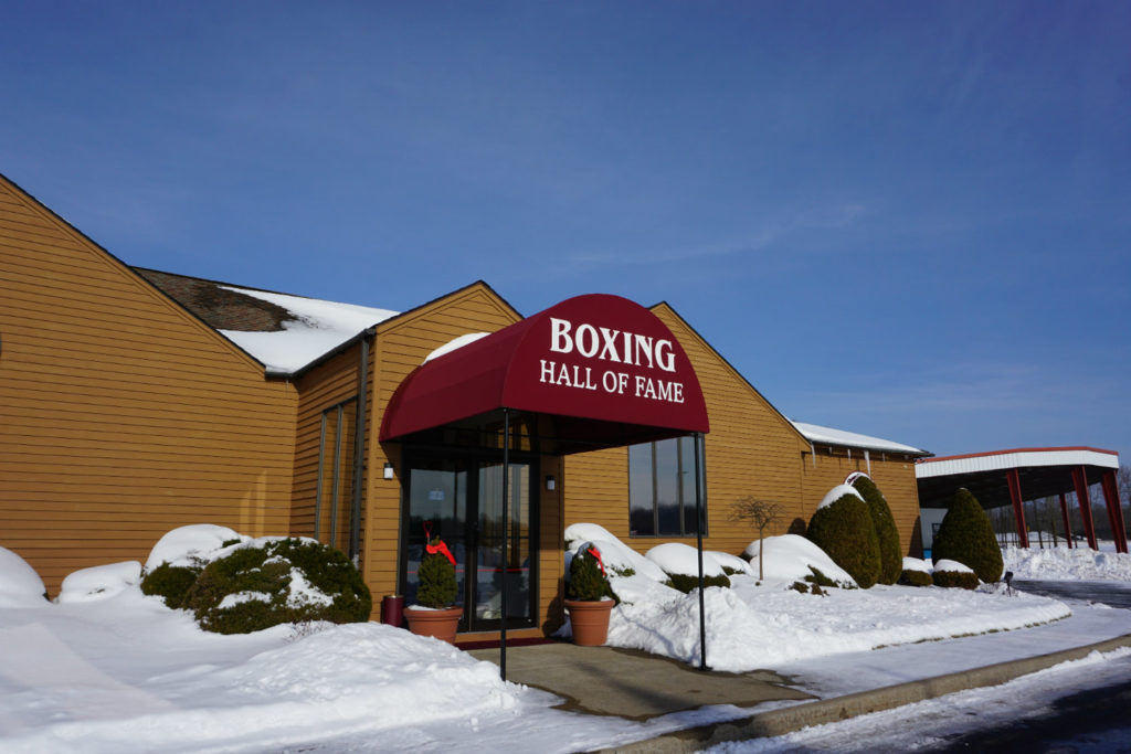 The International Boxing Hall of Fame in Canastota, New York in Madison County