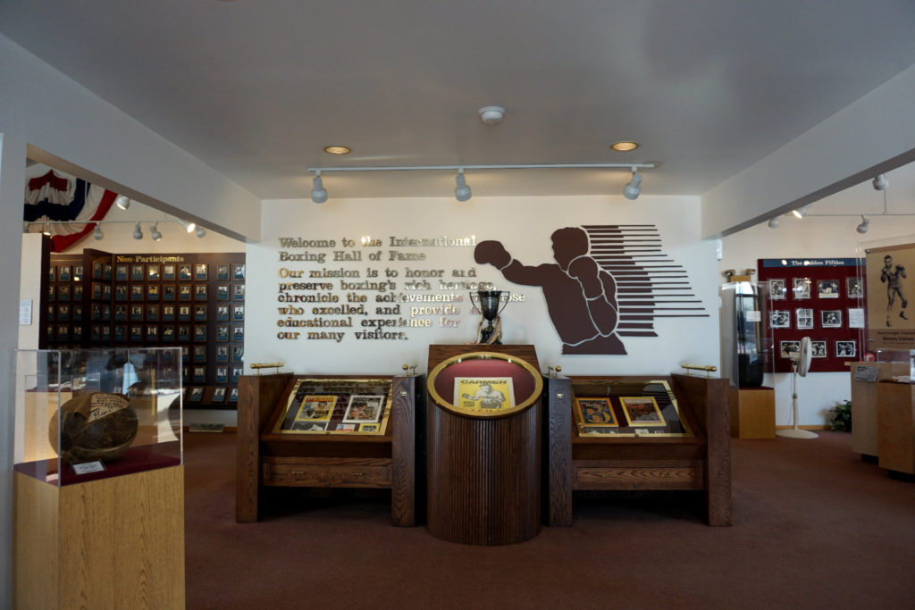 The International Boxing Hall of Fame in Canastota, Madison County, New York