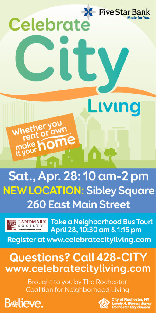 Celebrate City Living in Rochester, New York