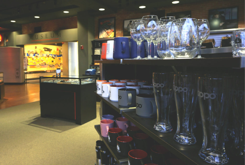 Gift Shop at the Zippo Case Museum in Bradford, Pennsylvania