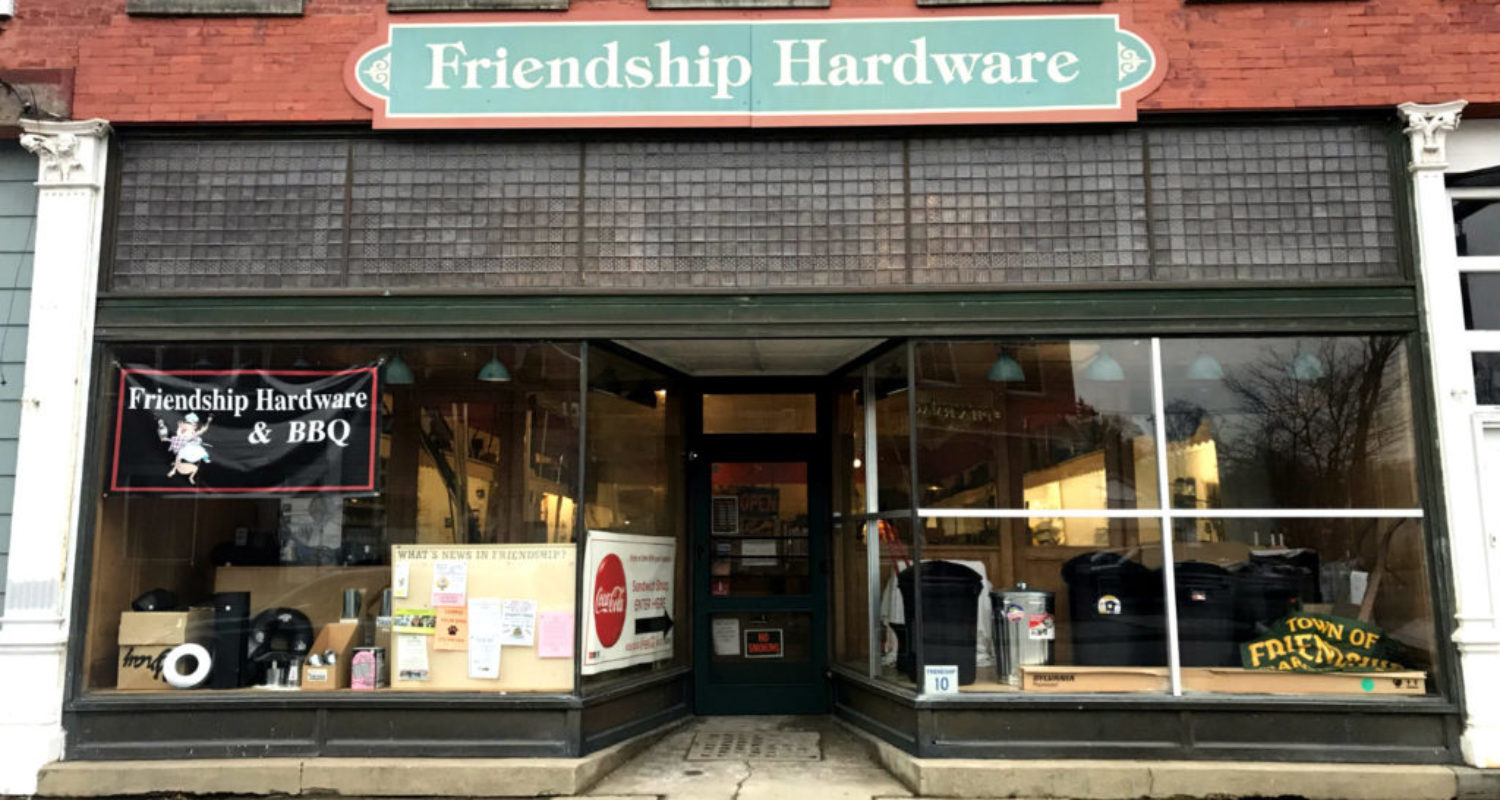 Friendship Hardware and Sandwich Shop - Featured Image