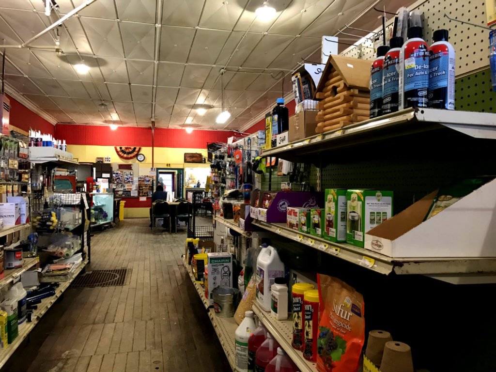 Inside the Friendship Hardware Store in Allegany County