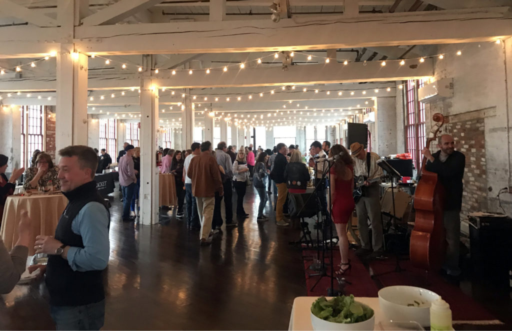 The Crowd at FEAST in the Finger Lakes at the Cracker Factory in Geneva, New York