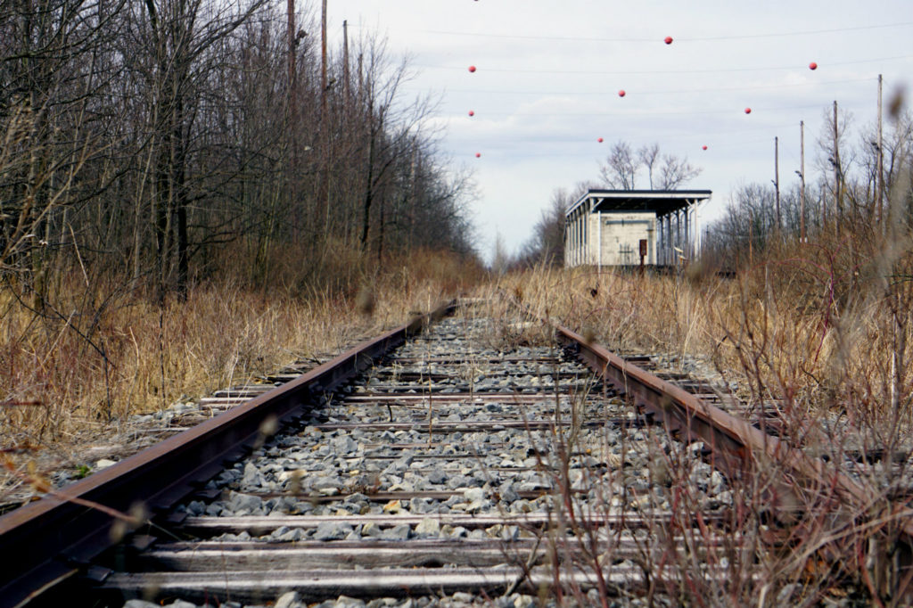 Railroad Tracks at the Seneca Army Depot in the Finger Lakes