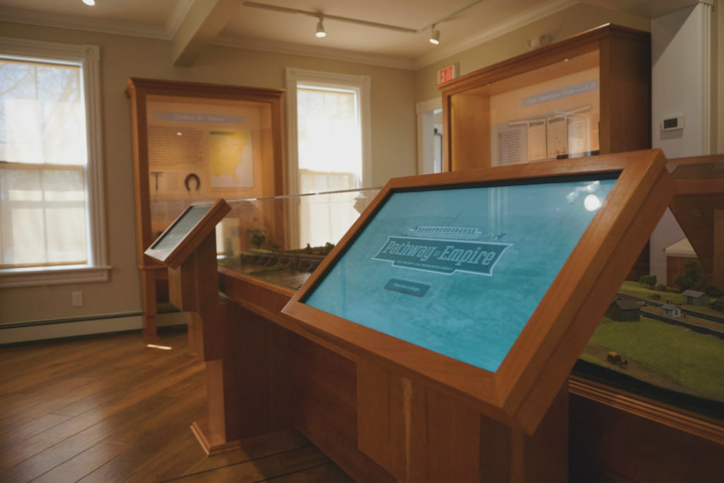 Erie Canal Exhibit at the Schoharie Crossing State Historic Site