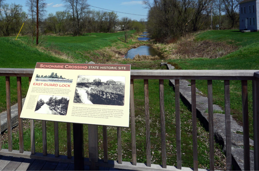 East Guard Lock at Schoharie Crossing in Fort Hunter, New York