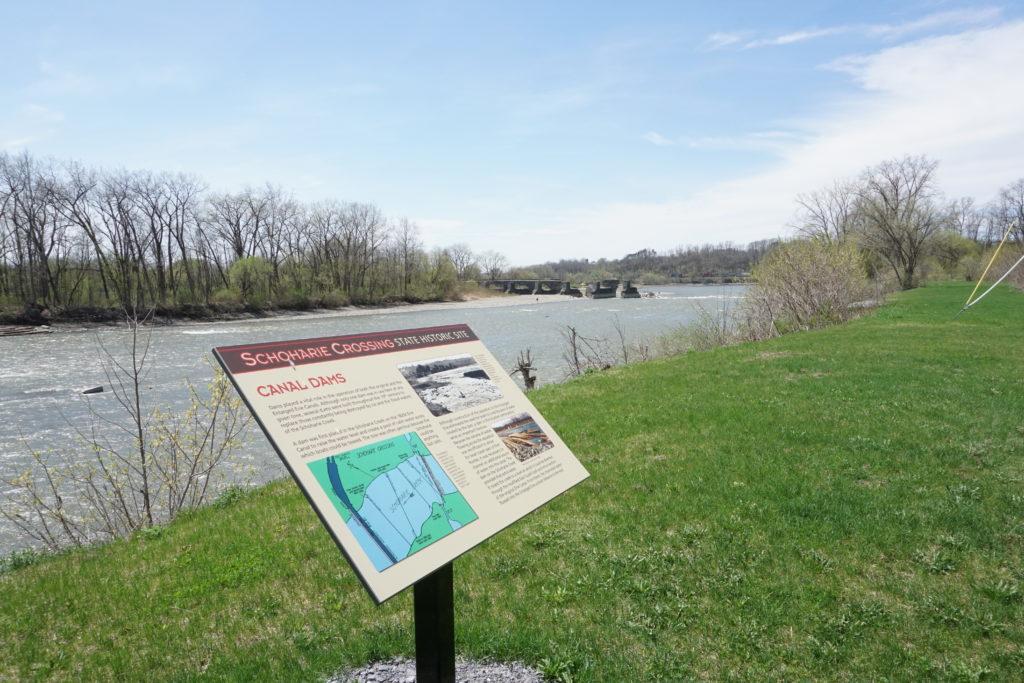 Schoharie Creek in Fort Hunter, New York