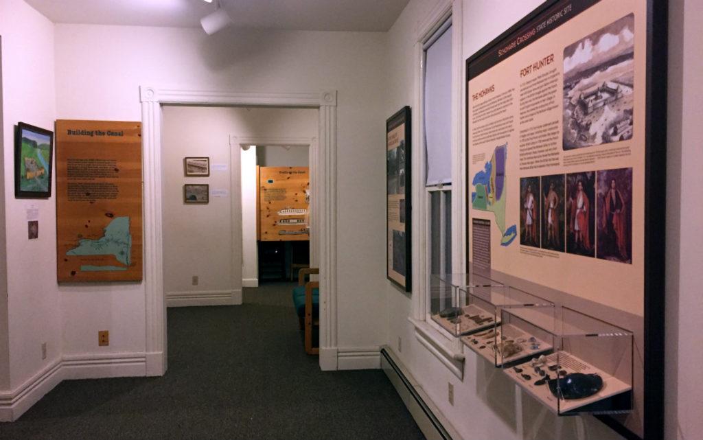 Schoharie Crossing State Historic Site Exhibit in 2016