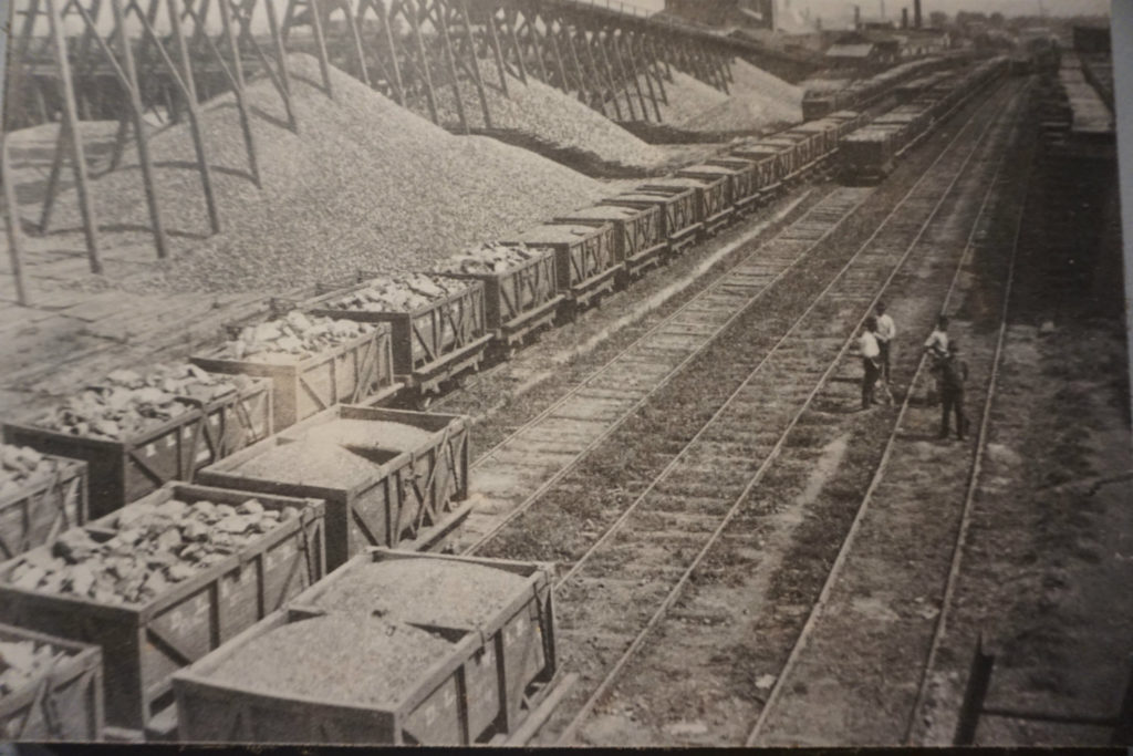 A Historical Photograph of Salt Production in Syracuse, New York