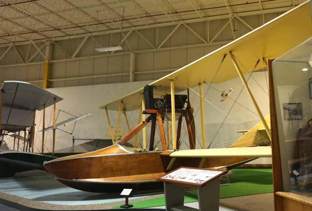 Early Seaplane in the Aviation Museum in Hammondsport, New York