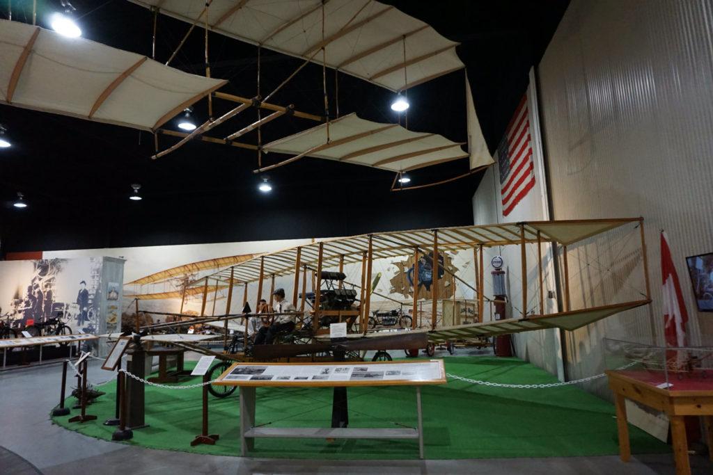 June Bug II Display in the Glenn Curtiss Aviation Museum in Hammondsport, New York