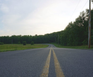 Roadway in New York State